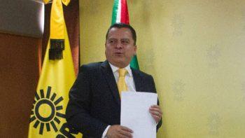 Manuel Granados presenta su renuncia a la presidencia del PRD