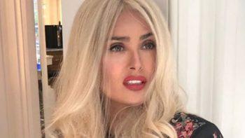 Salma Hayek luce de rubia en Instagram