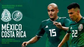 Publicidad sin engaños para el partido contra Costa Rica