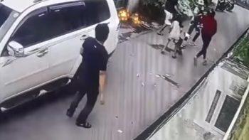 Valiente niña de ocho años forcejea con asaltantes (VIDEO)
