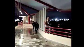 Impiden elementos de Fuerza Civil suicidio en metro Anáhuac (VIDEO)