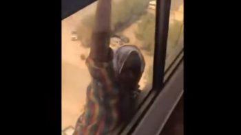 Encarcelada mujer que grabó caída de su empleada en Kuwait