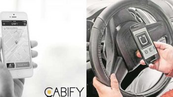 Uber y Cabify tramitan amparo por taxímetros digitales