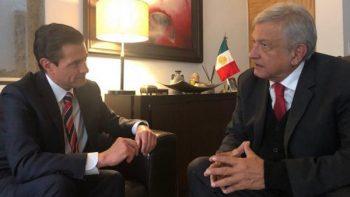 AMLO invita a comer a su casa a Peña Nieto