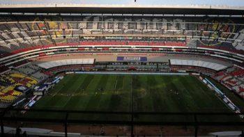 Enio Cubillo culpa a la gente del estadio Azteca por el césped