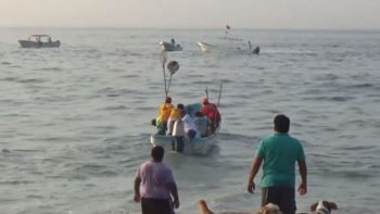 Buscan a 11 pescadores desaparecidos en costas de Oaxaca