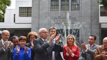 José Narro se despide de los trabajadores de la Secretaría de Salud