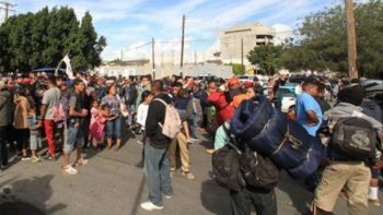 Llegan a Reynosa 200 integrantes de la caravana migrante