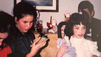 Natalia Téllez sorprende a sus seguidores con foto de cuando era niña