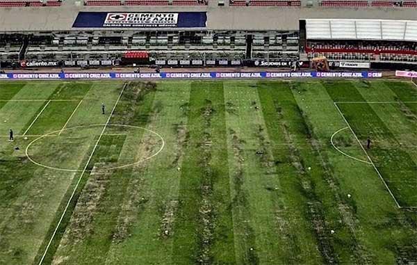 Exponen motivos para cancelar de juego de NFL en el Azteca