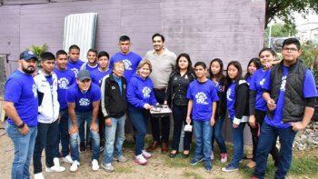 Voluntariado DIF Reynosa apoya mejorando viviendas