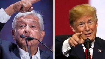 AMLO y Trump hablan sobre creación de empleos y migración