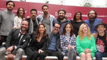 Manolo Caro y Mariana Treviño presentan Perfectos Desconocidos