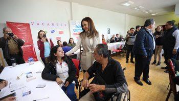 Ofrece Escobedo Feria de Empleo Incluyente
