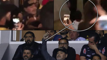 Exponen a menor de edad en trifulca de Maradona