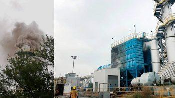 Reportan explosión en Ternium