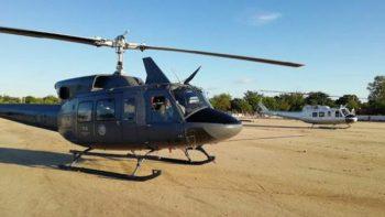 PGR pone a la venta siete helicópteros militares Bell