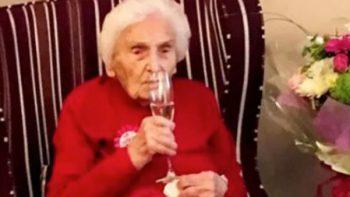 Abuelita revela secreto para llegar a los 105 años de vida