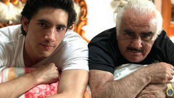 Sólo Vicente Fernández llevará la carrera de su nieto Alex Fernández