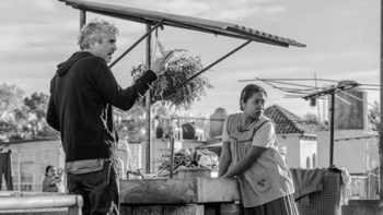 Con petates afinan detalles de 'ROMA' en Los Pinos