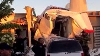 Identifican a víctimas del desplome de avioneta en Sinaloa