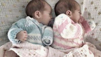 Ludwika Paleta comparte foto con sus gemelos