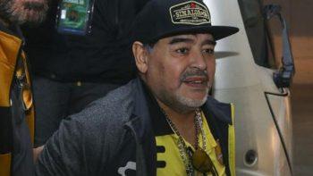 Dorados analiza protestar por falta de seguridad con Diego Maradona
