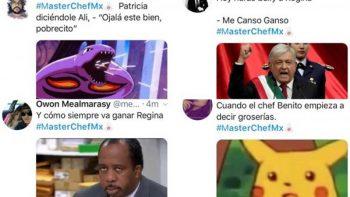 Internautas critican apoyo a Regina en 'MasterChef'