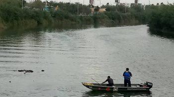 Flota 'enchalecado' en canal Anzaldúas
