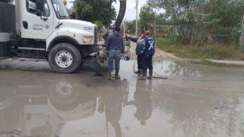 Sondeo de líneas de drenaje influye en buena salubridad pública