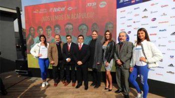 Presentan el Abierto Mexicano de Tenis