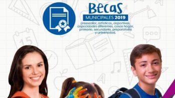 Invita Alcaldesa a registrarse a Programa de Becas Municipales 2019