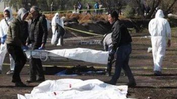 Asciende a 131 cifra de muertos por explosión en Tlahuelilpan