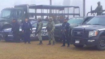 Detienen a presunto operador de 'Los Viagras' en Michoacán