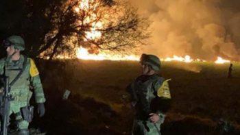 Van 20 muertos y 70 heridos en explosión de toma clandestina