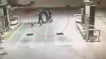 Captan en video a perro que evita asalto en gasolinera de Tamaulipas