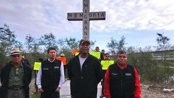 Protestan en Reynosa por visita  de Trump al valle de Texas