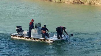 Hondureña ve morir a su marido en el Río Bravo