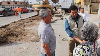 Pavimentación de la Lauro Villar es una obra prioritaria: Mario López