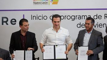 Acuerdan gobiernos de Monterrey y del Estado regularizar 5 mil predios