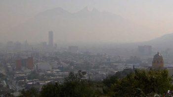 la calidad del aire en la Zona Metropolitana de Monterrey