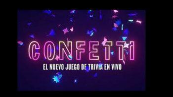 Confetti, el juego de Facebook que regala dinero