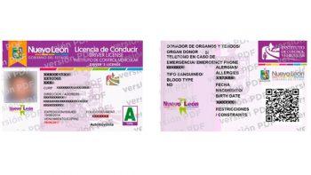 Tendrá Nuevo León licencia para conducir electrónica