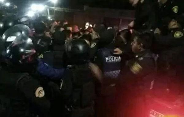 Intento de linchamiento en Xochimilco