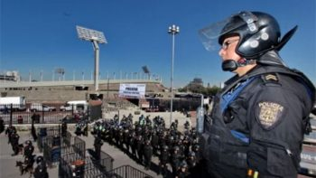 Más de tres mil 800 policías vigilarán el Pumas-América