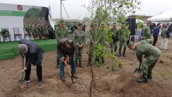 Inauguran Bosque Militar en Apodaca