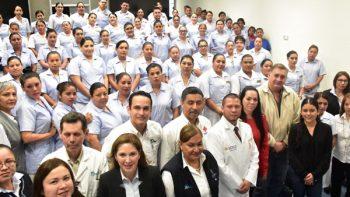 Inicia DIF prácticas hospitalarias