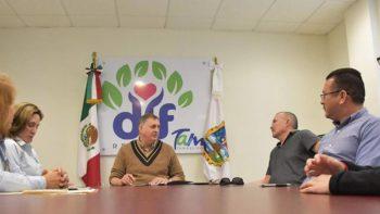 Firma DIF Reynosa convenio con ORTE PRO