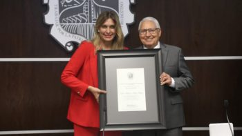 Entregan en Reynosa, Medalla 'Ing. Marte R. Gómez'