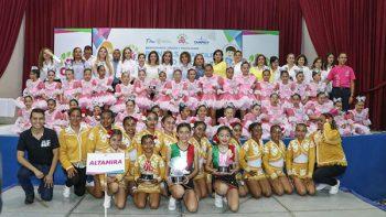Grandiosa exhibición de rondas y salto de cuerda en Tampico